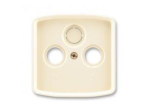 Kryt Tango 5011A-A00300 C zásuvky TV s vylamovacím otvorem
