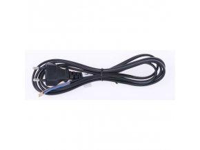 Flexo kabel 2m/2x0.75 černá šňůra PVC