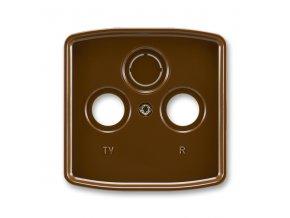 Kryt Tango 5011A-A00300 H zásuvky TV s vylamovacím otvorem