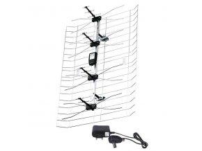 TV anténa síťová ASP-30 45dBi LTE/4G filtr