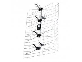 Venkovní anténa EMOS EM-008, 0–80 km DVB-T2