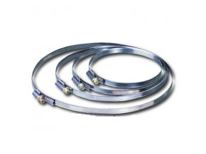 Stahovací páska, hadicová spona C 160 mm /150-170/