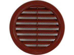 Větrací mřížka kruhová Haco VM 110 H hnědá 110mm