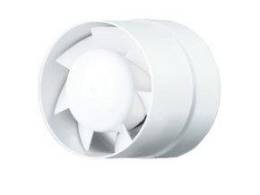 Ventilátor do potrubí 125 VKO L Turbo ložiska, vyšší výkon