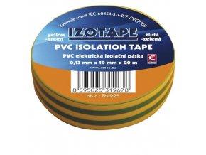 Izolační páska PVC 19/20 zelenožlutá
