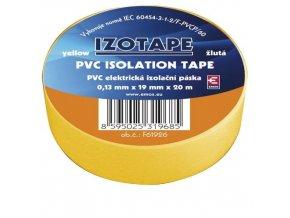Izolační páska PVC 19/20 žlutá