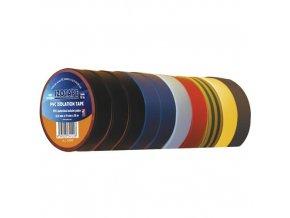 Izolační páska PVC 19/20 barevný mix 10ks