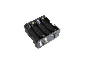 Držák baterií 8x R6/AA/UM3 s pájecími očky