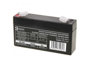 Bezúdržbový olověný akumulátor 6V 1,3Ah