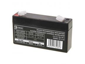 Olověný akumulátor 6V 1,3Ah
