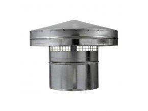 Hlavice, protidešťová stříška PS 160 mm