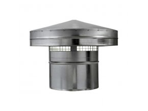 Hlavice, protidešťová stříška PS 200 mm
