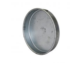 Záslepka kovová do potrubí 125 mm