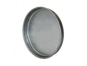 Ukončovací záslepka pro kruhové potrubí 150 mm, kovová Zn