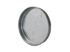Ukončovací záslepka pro kruhové potrubí 160 mm, kovová Zn