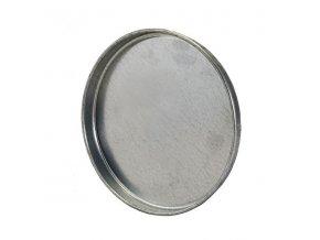 Ukončovací záslepka pro kruhové potrubí 200 mm, kovová Zn