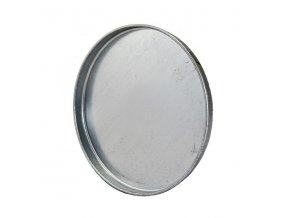 Ukončovací záslepka pro kruhové potrubí 250 mm, kovová Zn