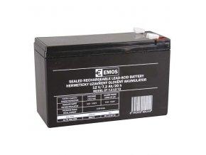 Olověný akumulátor 12V 7,2Ah faston 6,3 mm