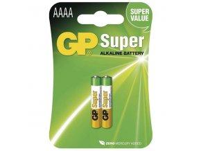 Baterie GP 25A alkalická AAAA