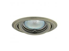 Bodovka výklopná bodové svítidlo ARGUS CT-2115-BR/M