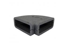 Izolace pro čtyřhranné vodorovné koleno 204x60 mm/90st.