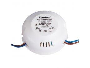 LED trafo proudové 700mA 12W Kanlux STEL LED 6-12W
