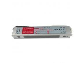 LED transformátor, trafo 12V/ 20W LPV20-12 napěťový