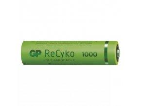 Nabíjecí baterie GP ReCyko+ 1000 HR03 (AAA) 1ks