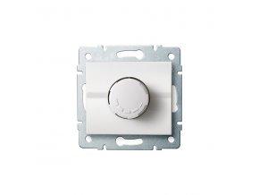 LOGI Otočný stmívač 500W s filtrem - bílá