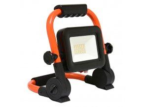 LED reflektor s akumulátorem 20W RMLED-20W/ORA/AKU 4000K