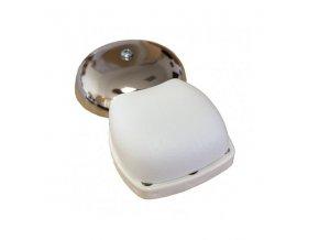 Domovní zvonek s chromovou miskou 2531/8V elektromechanický
