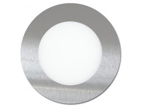 LED svítidlo LED-WSL-6W/4100/CHR Kruh 12cm, 6W, 4100K, LADA