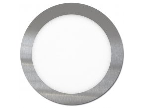 LED svítidlo LED-WSL-12W/4100/CHR Kruh 17,5cm, 12W, 4100K, LADA