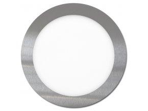 LED svítidlo LED-WSL-18W/2700/CHR Kruh 22,5cm, 18W, 2700K, LADA
