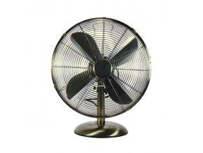 Stolní ventilátor T-FAN 40B průměr 40cm, bronz
