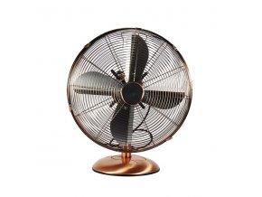 Stolní ventilátor T-FAN 40MC průměr 40cm, měď