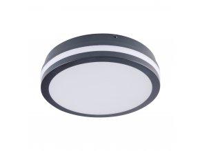 Přisazené svítidlo s čidlem pohybu LED BENO N 18W NW-O-SE GR grafit