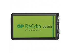 Nabíjecí baterie GP ReCyko+ 6F22 (9V) 1ks