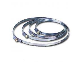 Hadicová spona nerezová C 150 mm /140-160/