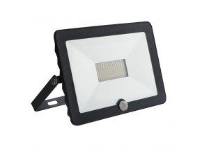 LED reflektor 50W s pohybovým čidlem GRUN N LED-50-B-SE 4000K