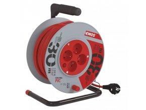 Prodlužovací kabel na bubnu 30m 4 zásuvky 3x1mm