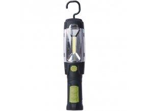 Svítilna nabíjecí LED P4518, 3W COB  plus  6 LED