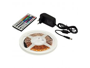 LED páska DX-SMD5050-1,5m/RGB s dálkovým ovladačem