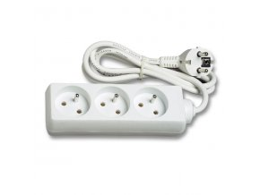 Prodlužovací kabel  1,4m 3 zásuvky 230V