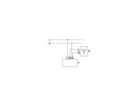 Regulátor otáček Vents RS-1.5-PS na omítku do 300W