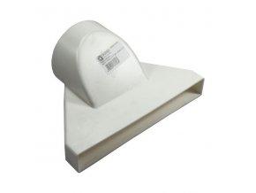 Redukce, přechod vodorovný 100/234x29 mm PVC 6005