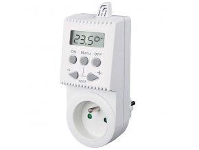Zásuvkový termostat TS05 digitální