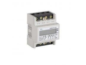 Elektroměr na DIN lištu KDEM-3P LCD