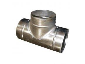 Odbočka T kovová TM 100/100 mm