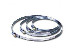 Stahovací páska, hadicová spona C 125 mm  /120-140/
